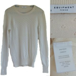 Equipment Cashmere Sweater Small